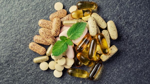 Tablets, capsules, and softgels with natural supplements