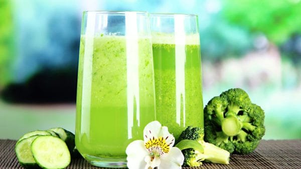 Green veggies and detoxification