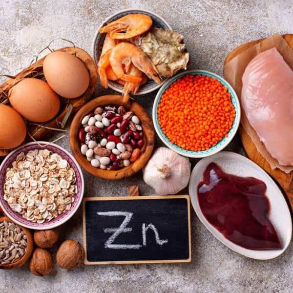 Foods providing high amounts of zinc
