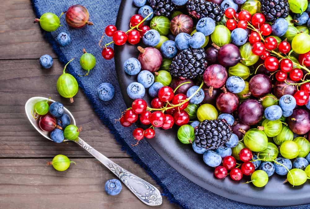Berries are a source of polyphenols
