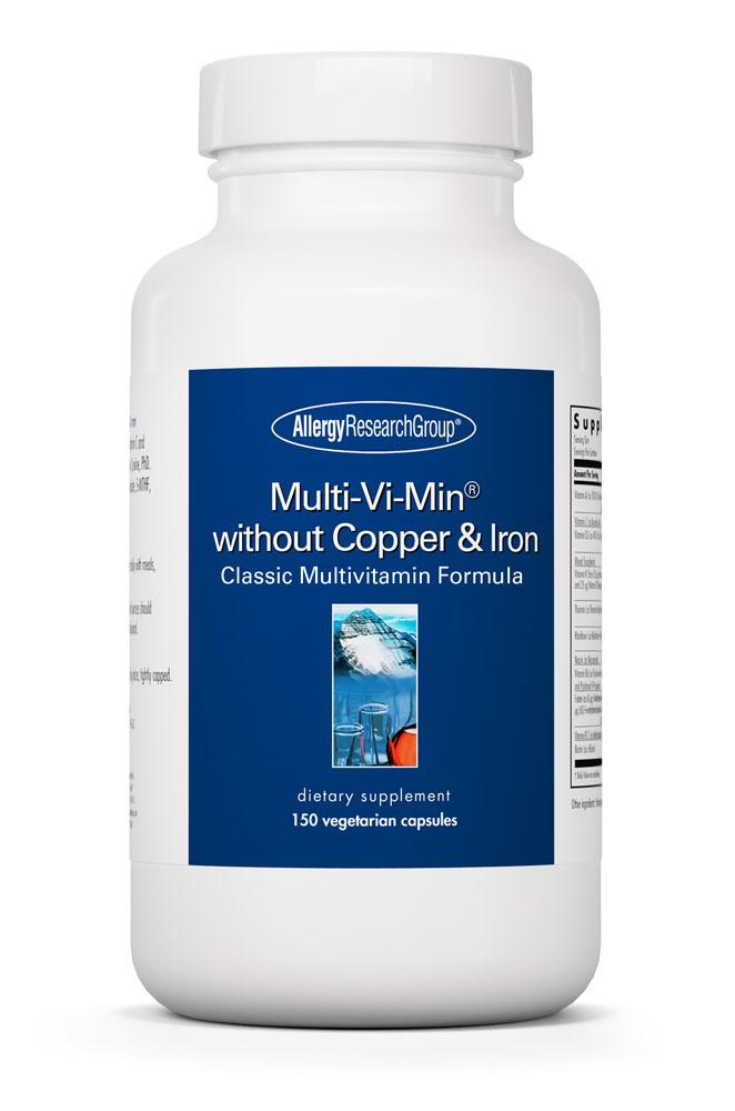 Multi-Vi-Min® without Copper & Iron 150 Vegetarian Caps