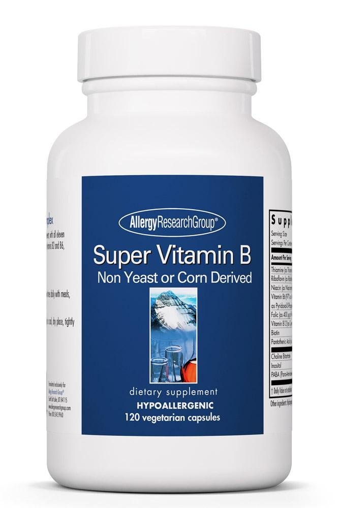 Super Vitamin B 120 Vegetarian Capsules