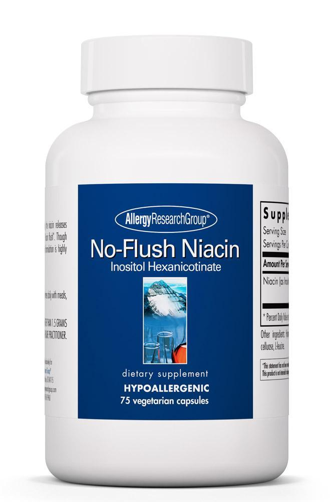 No-Flush Niacin 75 Vegetarian Caps