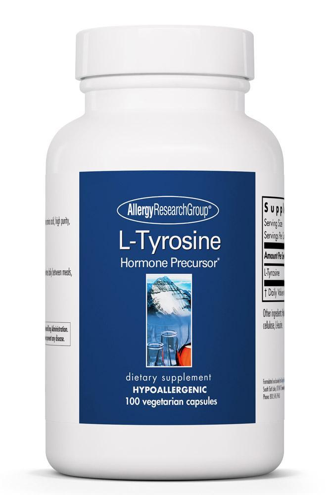 L-Tyrosine 500 Mg 100 Vegetarian Caps