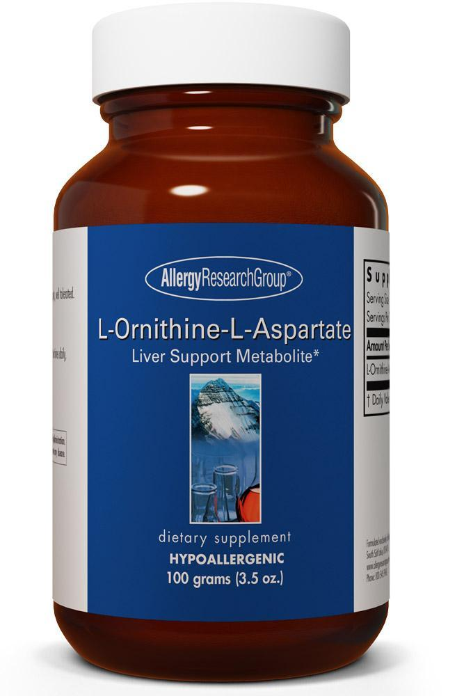 L-Ornithine-L-Aspartate 100 grams (3.5 oz.)