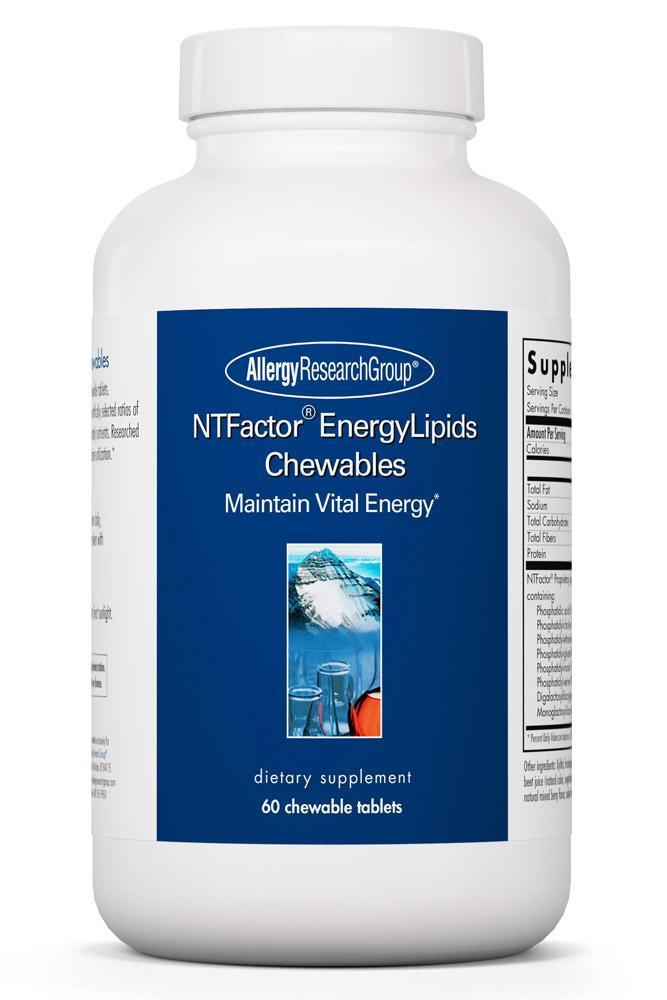 NTFactor® EnergyLipids 60 Chewable Wafers