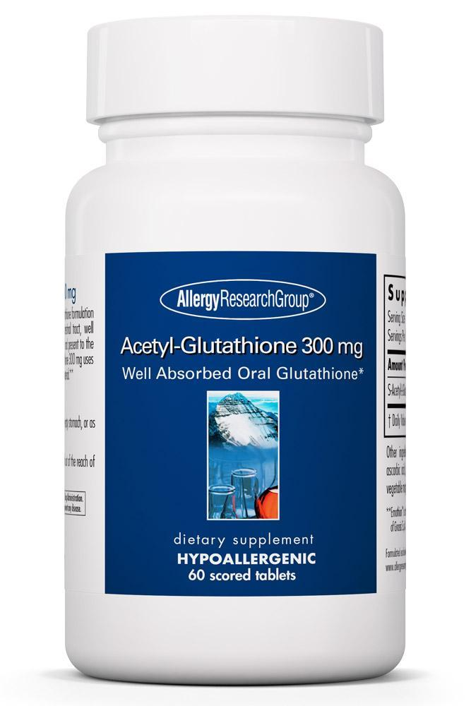 Acetyl Glutathione 300 Mg 60 Scored Tablets Allergy