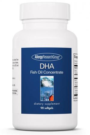 Allergy research group dha fish oil concentrate 90 for Allergic reaction to fish oil