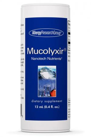 Mucolyxir® Nanotech Nutrients® 12 ml liquid