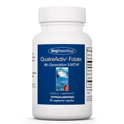 QuatreActiv® Folate 4th Generation 5-MTHF 90 Vegetarian Capsules